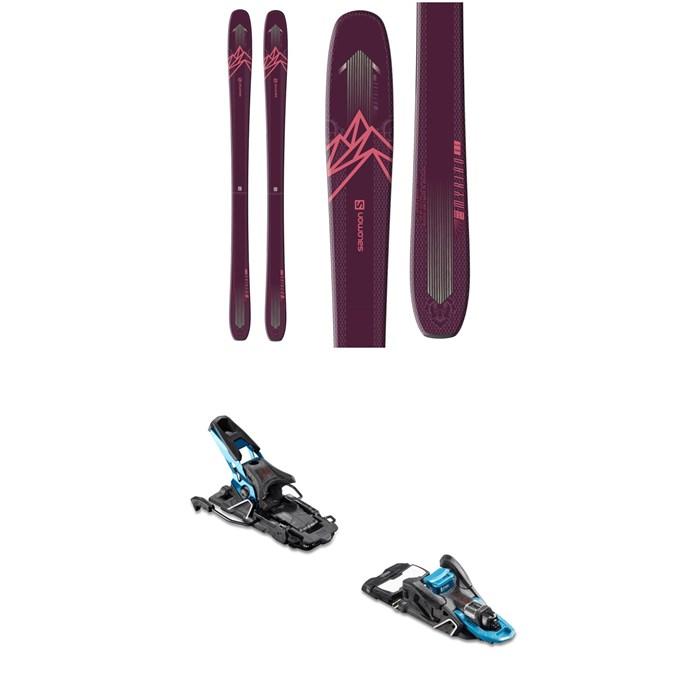 Salomon - QST Myriad 85 Skis + Salomon S/Lab Shift MNC Alpine Touring Ski Bindings - Women's 2020