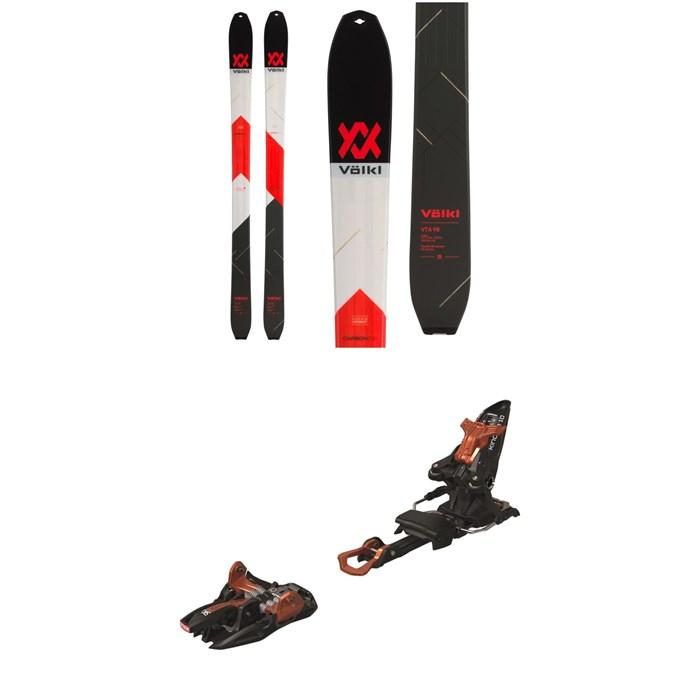 Volkl - VTA 98 Skis 2020 + Marker Kingpin 10 Alpine Touring Ski Bindings 2020