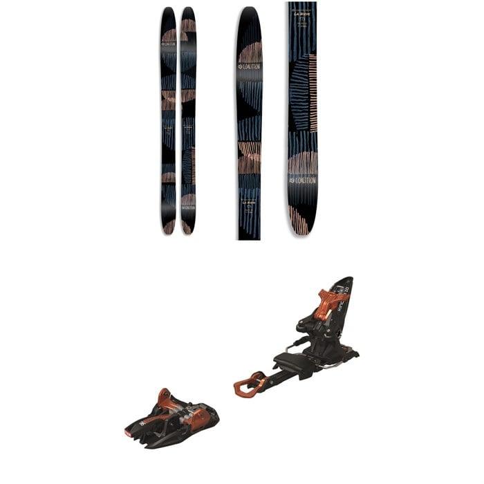 Coalition Snow - La Nieve Skis 2020 + Marker Kingpin 10 Alpine Touring Ski Bindings - Women's 2020