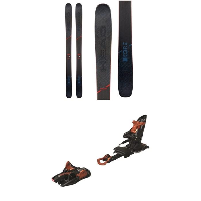 Head - Kore 99 Skis 2020 + Marker Kingpin 13 Alpine Touring Ski Bindings 2020