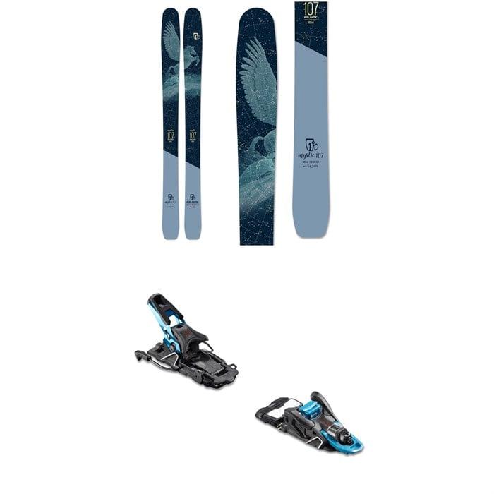 Icelantic - Mystic 107 Skis 2020 + Salomon S/Lab Shift MNC Alpine Touring Ski Bindings - Women's 2020