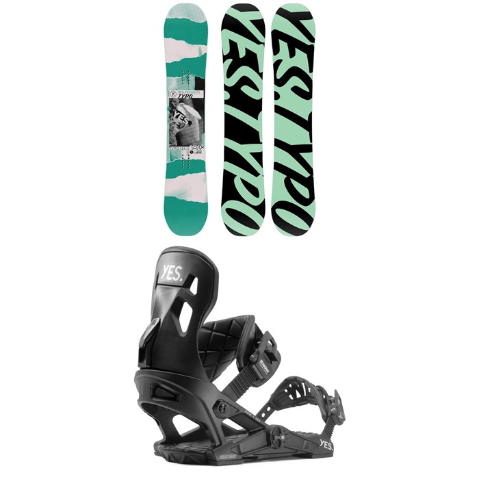 Yes. - Typo Snowboard + Now x Yes Snowboard Bindings 2020