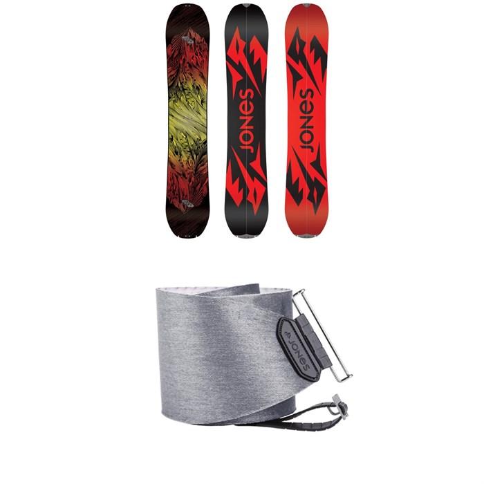 Jones - Mountain Twin Splitboard 2020 + Nomad Quick Tension Tail Clip Splitboard Skins