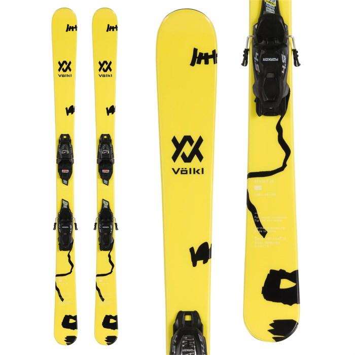 Volkl - Revolt Jr Skis + 7.0 VMotion Jr Skis - Big Boys' 2020
