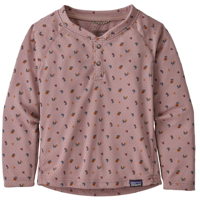 Patagonia - Capilene Midweight Henley - Toddlers'