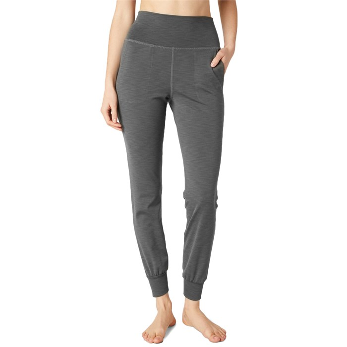 Beyond Yoga - Heather Rib Midi Joggers - Women's