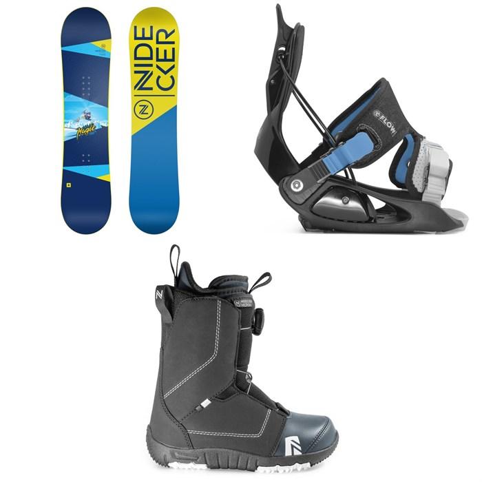 Nidecker - Micron Magic Snowboard + Flow Micron Snowboard Bindings + Nidecker Micron Boa Snowboard Boots - Kids' 2020