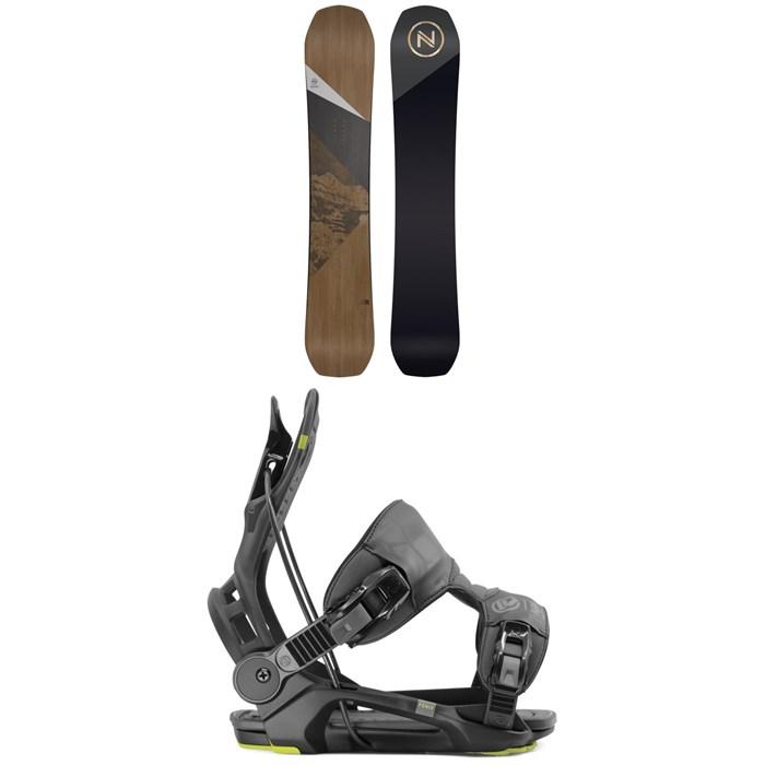 Nidecker - Escape Snowboard + Flow Fenix Snowboard Bindings 2020
