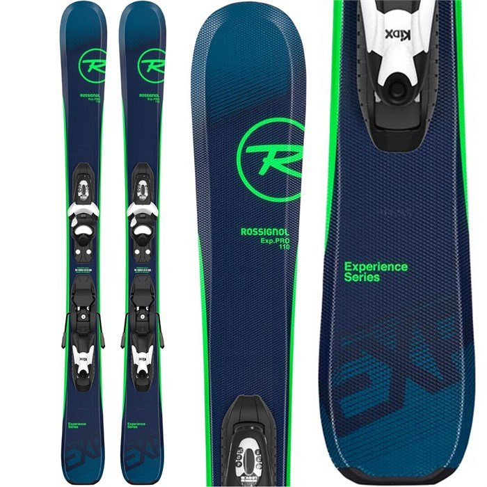 Rossignol - Experience Pro Skis + Kid X 4 Bindings - Boys' 2020