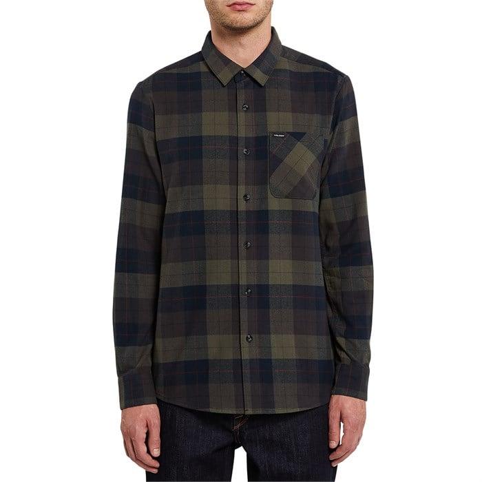 Volcom - Caden Plaid Long-Sleeve Flannel