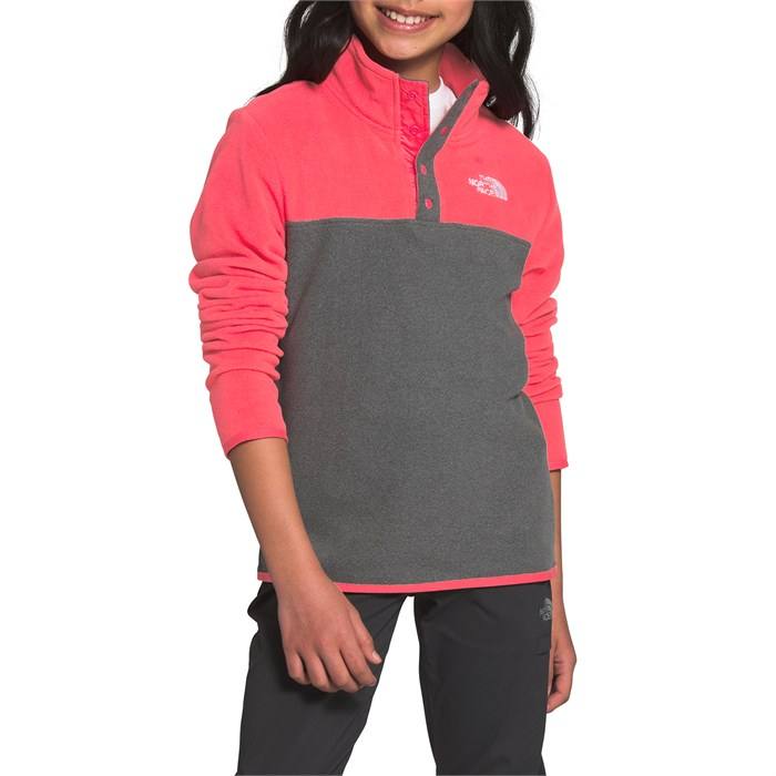 The North Face - Glacier 1/4 Snap Pullover - Kids'
