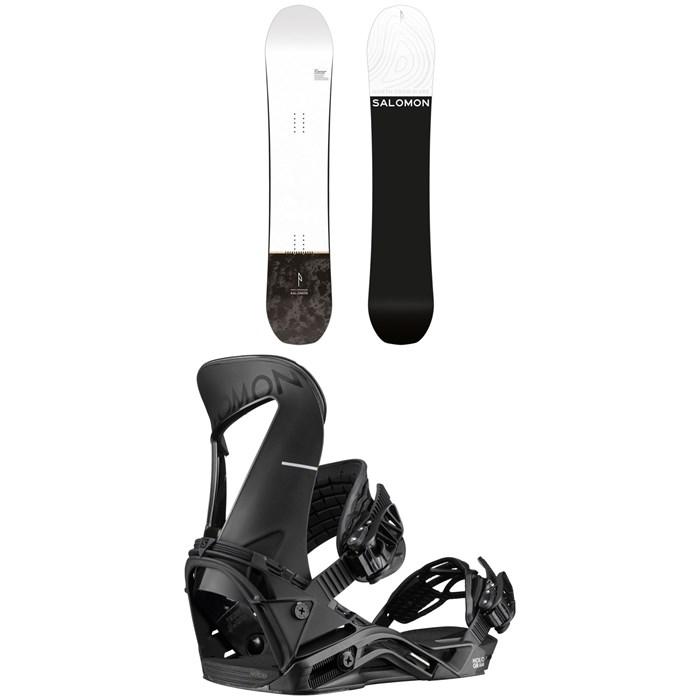 Salomon - Super 8 Snowboard + Hologram Snowboard Bindings 2020
