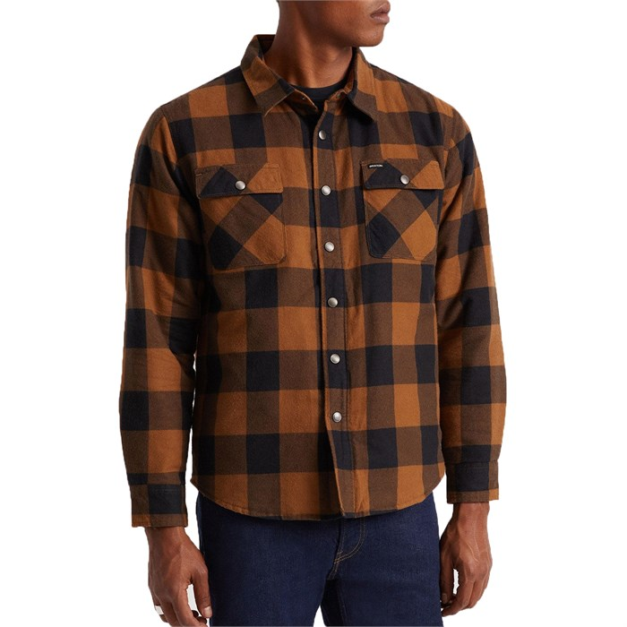 Brixton - Bowery Lined Long-Sleeve Flannel