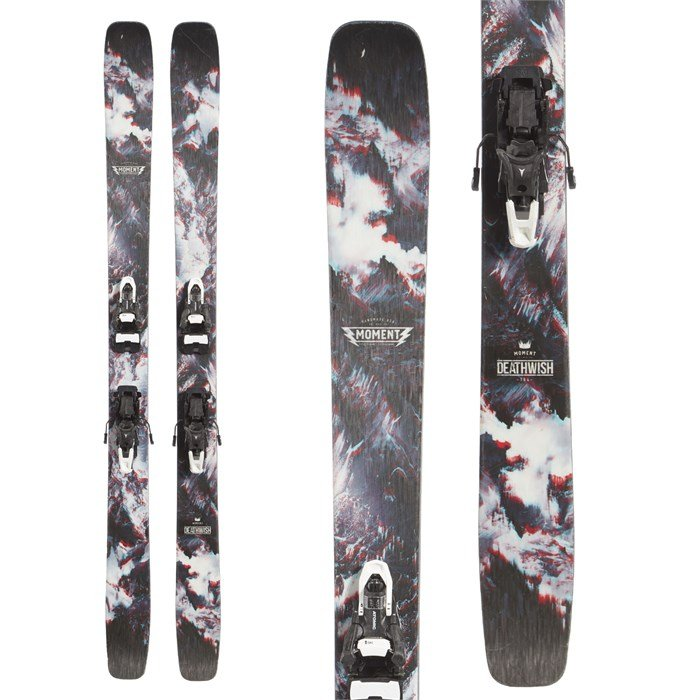 Moment Deathwish Skis + Atomic Shift MNC 13 Alpine Touring