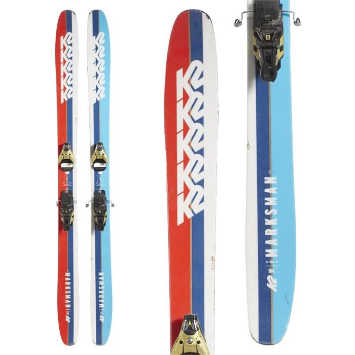 K2 Marksman Skis + Salomon STH2 WTR 16 Ski Bindings 2019