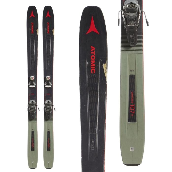 Atomic Vantage 107 Ti Skis + Look Pivot 14 AW Ski Bindings