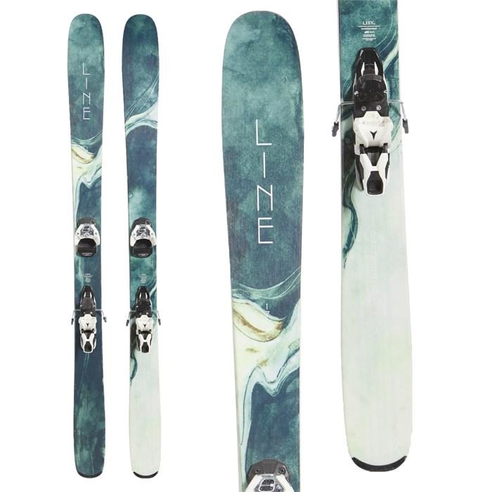 Line Skis Pandora 104 Skis + Atomic Warden MNC 11 Ski