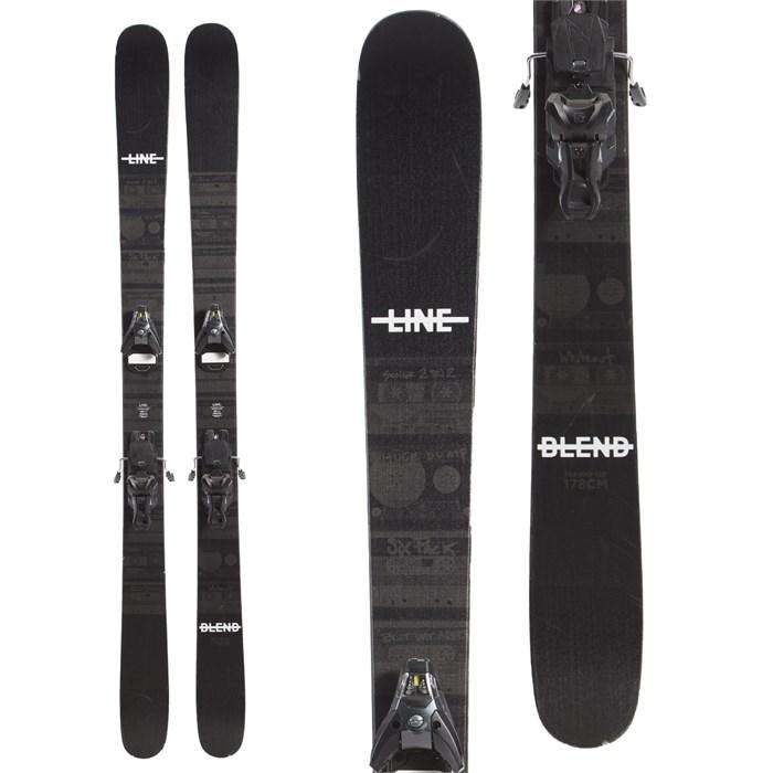Line Skis Blend Skis + Salomon STH2 WTR 13 Ski Bindings