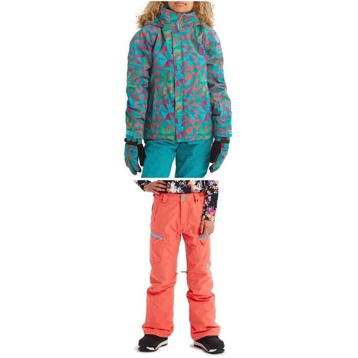Burton - Bennett Jacket + Elite Cargo Pants - Girls'