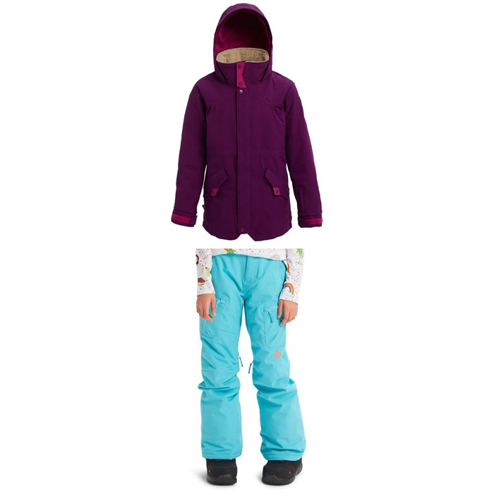 Burton - Shortleaf Parka + Elite Cargo Pants - Girls'