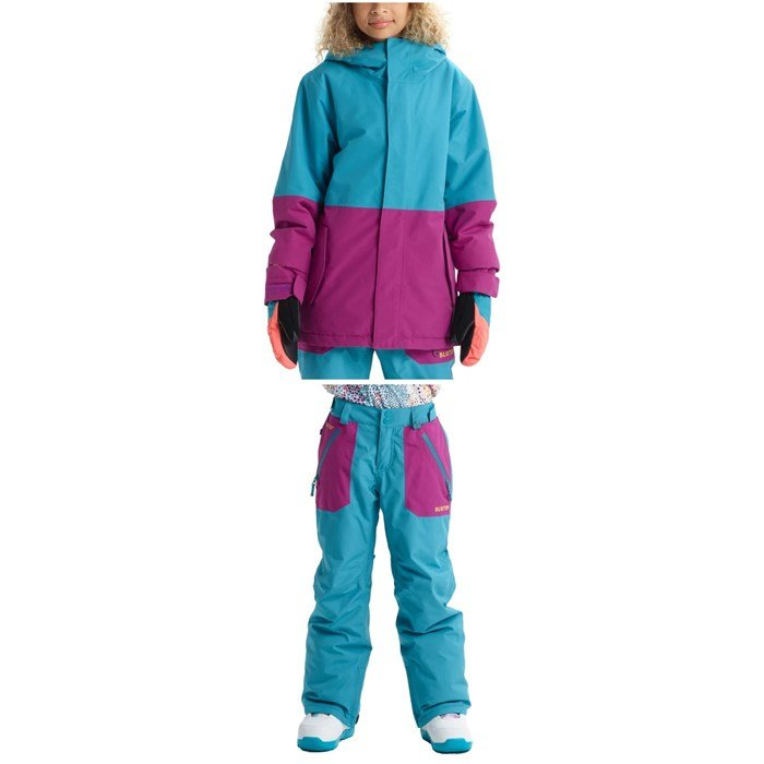 Burton - GORE-TEX Stark Jacket - Kids' + Burton GORE-TEX Stark Pants - Big Kids'