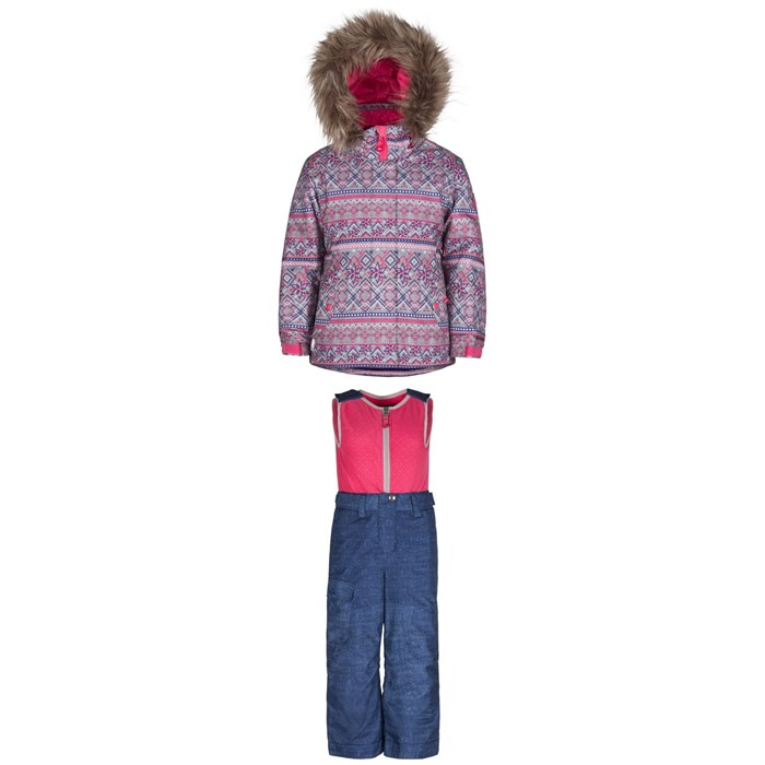 Jupa - Anastasia Jacket - Little Girls' + Jupa Beatrice Bib Pants - Little Girls'