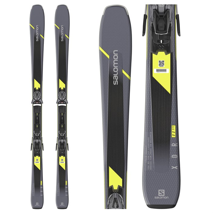 Salomon - XDR 80 ST C Skis + Z10 GW Bindings 2020