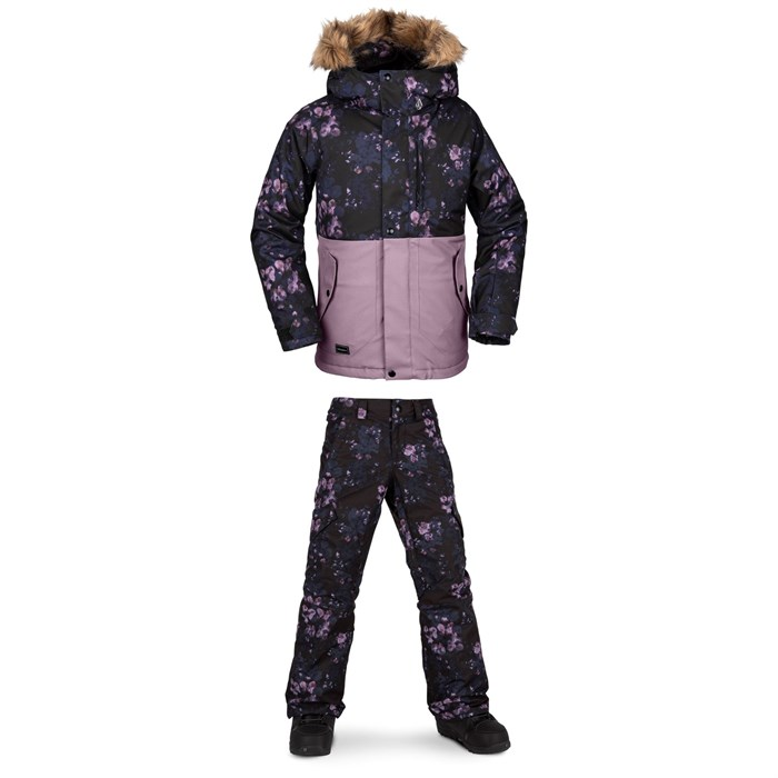Volcom - So Minty Insulated Jacket + Silver Pine Insulated Pants - Girls'