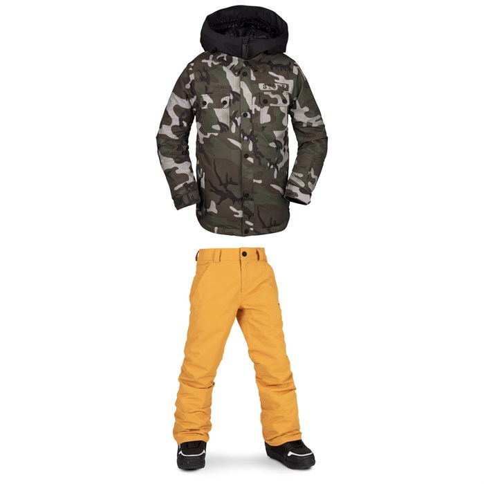 Volcom - Neolithic Insulated Jacket + Freakin Snow Chino - Boys'