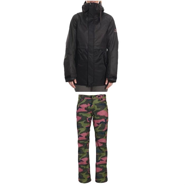 686 - Jett Insulated Jacket + Gossip Softshell Pants - Women's