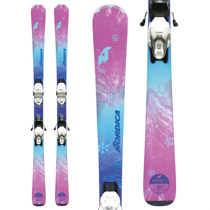 Nordica - Astral 74 CA Skis + TP Compact 10 FDT Bindings - Women's 2019