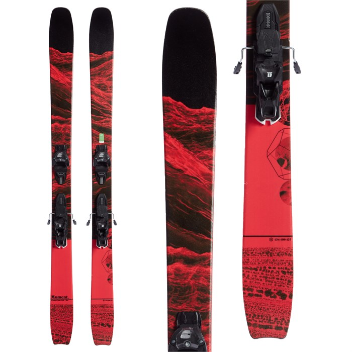 Moment - Wildcat Tour 108 Skis + Warden 13 Demo Bindings 2020 - Used