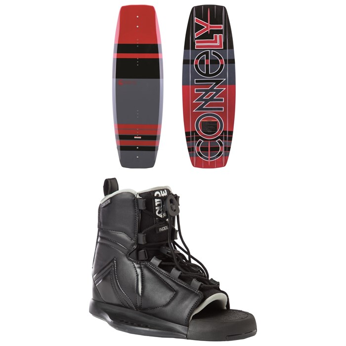 Connelly - Reverb Wakeboard + Liquid Force Index Wakeboard Bindings