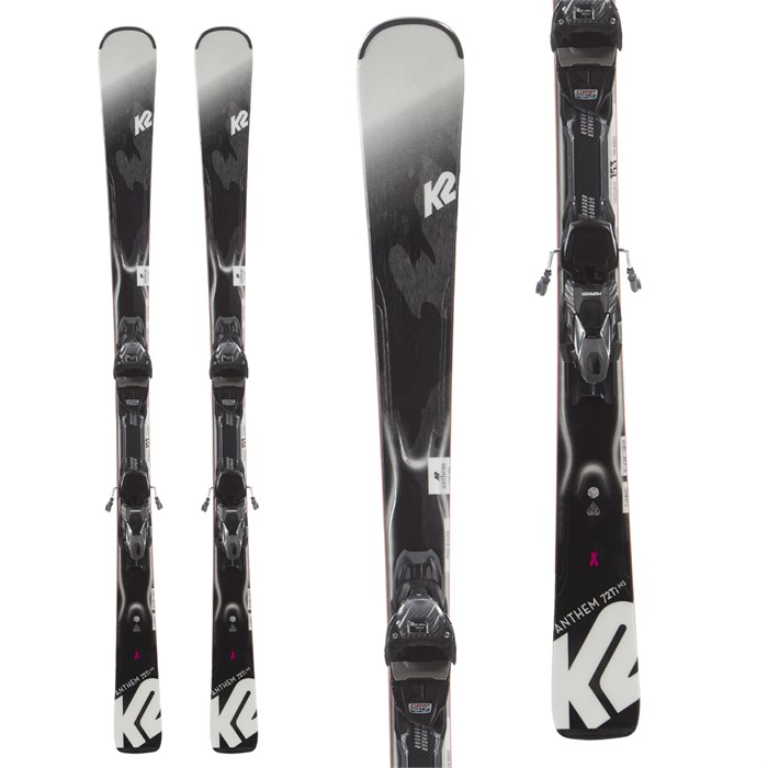 K2 - Anthem 72Ti HS Skis + ERC 11 TCx Quikclik Bindings - Women's 2020