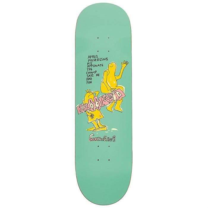 Krooked - Gonzalez The Champ 8.62 Skateboard Deck