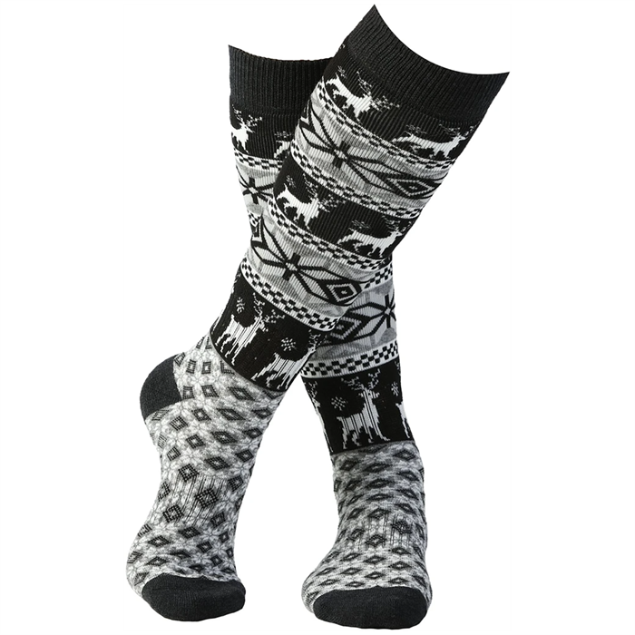 Rojo Outerwear - Nordic Snowflake Socks - Girls'