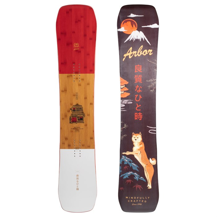 Arbor - Westmark Camber Frank April Snowboard 2021