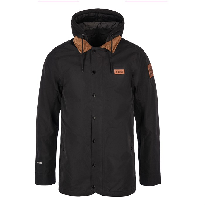 Planks - Clothing Throw Down Collared Jacket