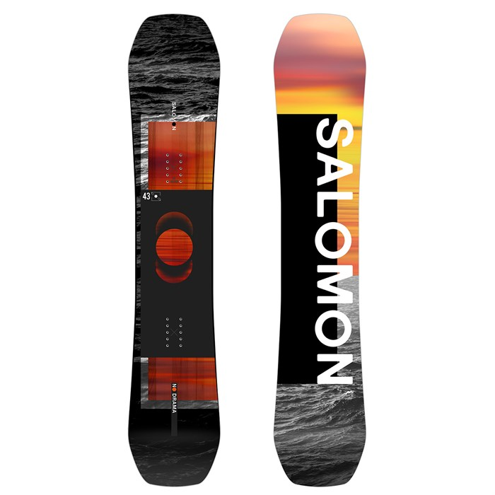 Salomon - No Drama Snowboard - Women's 2021 - Used