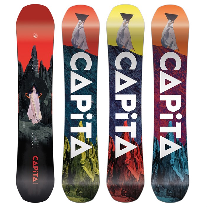 CAPiTA - Defenders of Awesome Snowboard 2021 - Used