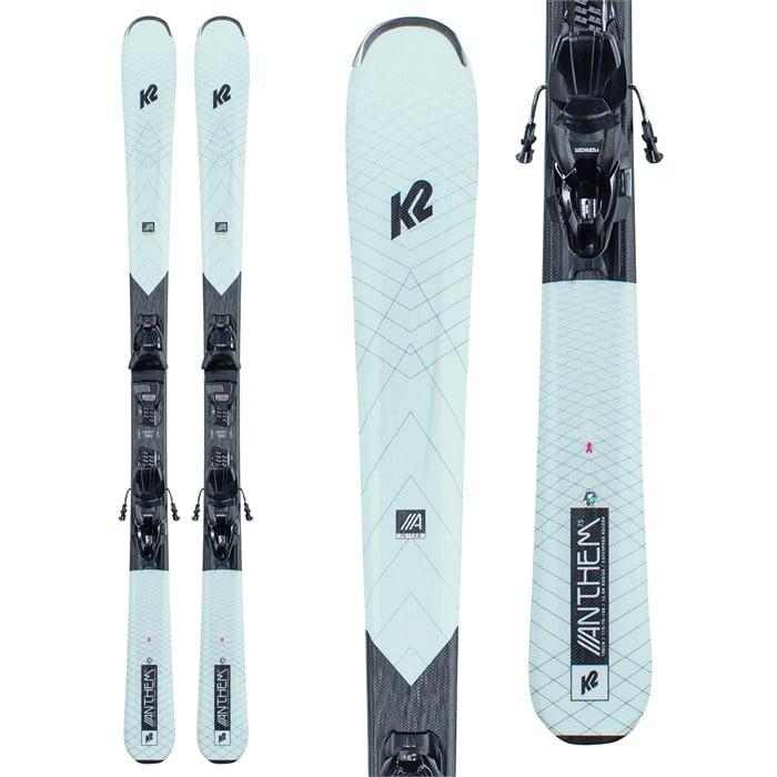 K2 - Anthem 75 Skis + ERP 10 Quikclik Bindings - Women's 2021