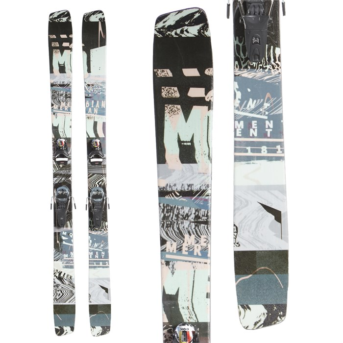 Moment - Meridian Skis + Look Pivot 14 GW Bindings 2020 - Used