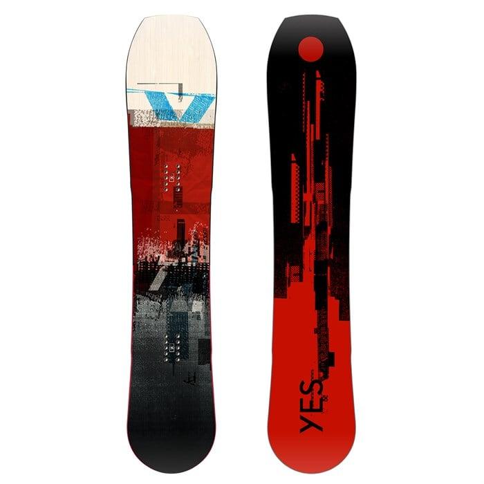 Yes. - Hybrid Snowboard 2021