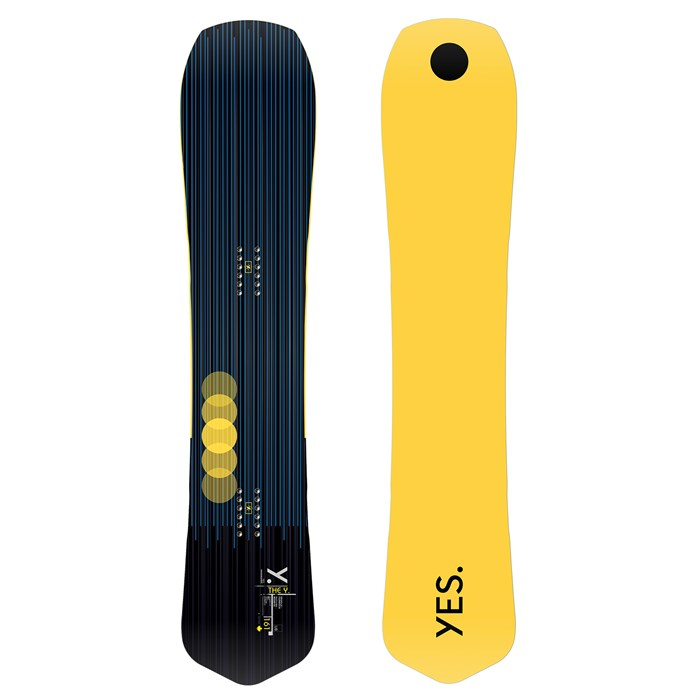 Yes. - The Y. Snowboard 2021