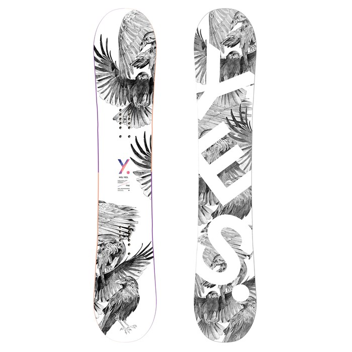 Yes. - Hel Yes. Snowboard - Women's 2021