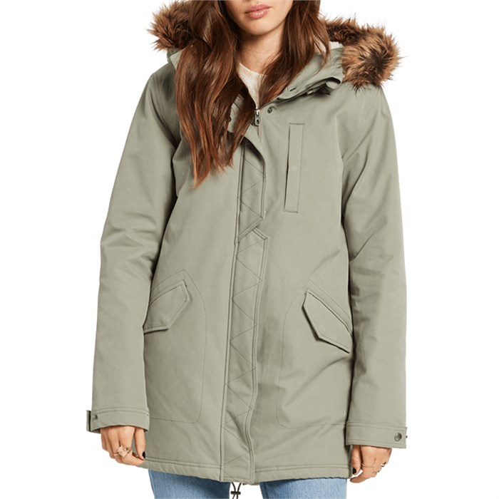 Volcom - Less Is More Parka Jacket - Women's