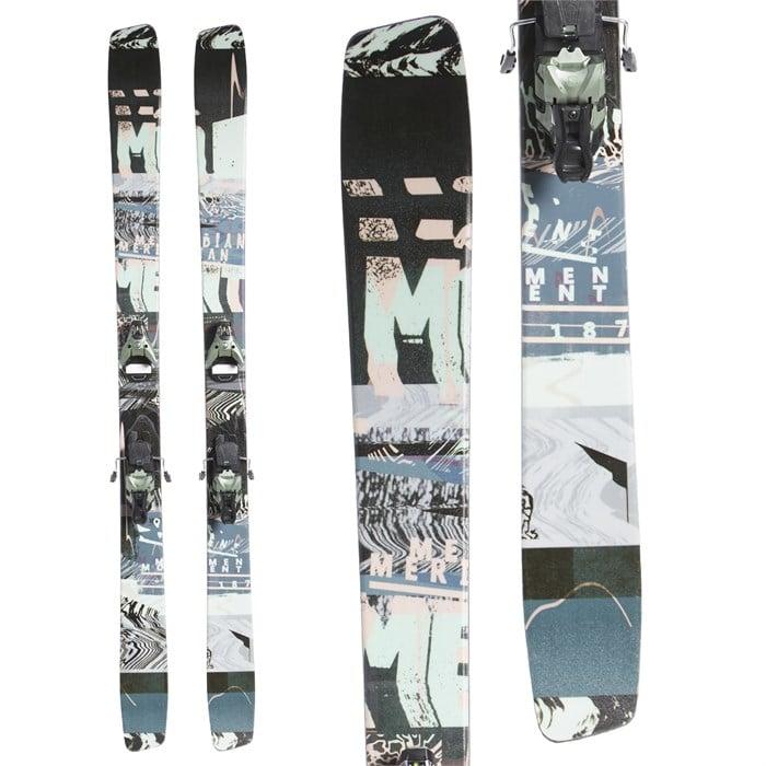 Moment Meridian Skis + Salomon STH2 WTR 16 Bindings 2020