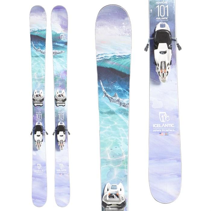 Icelantic Maiden 101 Skis + Marker Griffon 13 ID Bindings