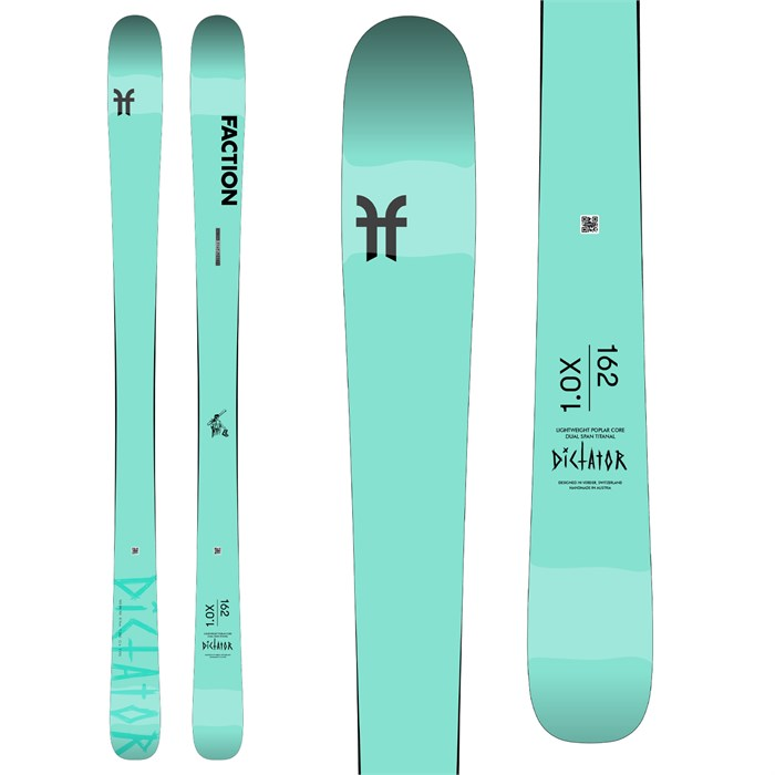 Faction - Dictator 1.0X Skis - Women's 2021