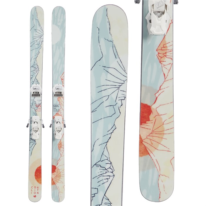 Coalition Snow - SOS Skis + Tyrolia Attack² 12 GW Bindings - Women's 2020 - Used